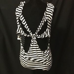 Charlotte Russe Tank With Major Cut Outs